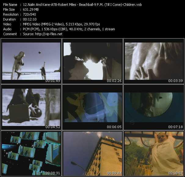 Nalin And Kane - ATB - Robert Miles video screenshot