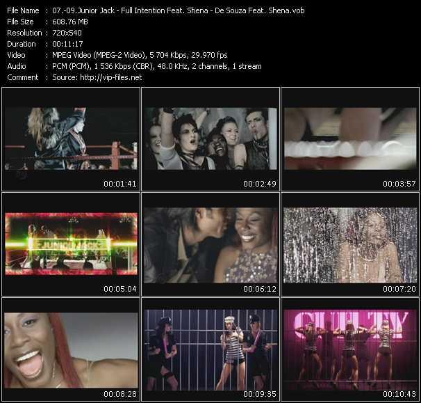 Junior Jack - Full Intention Feat. Shena - De Souza Feat. Shena video screenshot