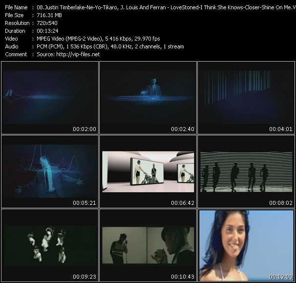Justin Timberlake - Ne-Yo - Tikaro, J. Louis And Ferran Feat. Clarence video screenshot