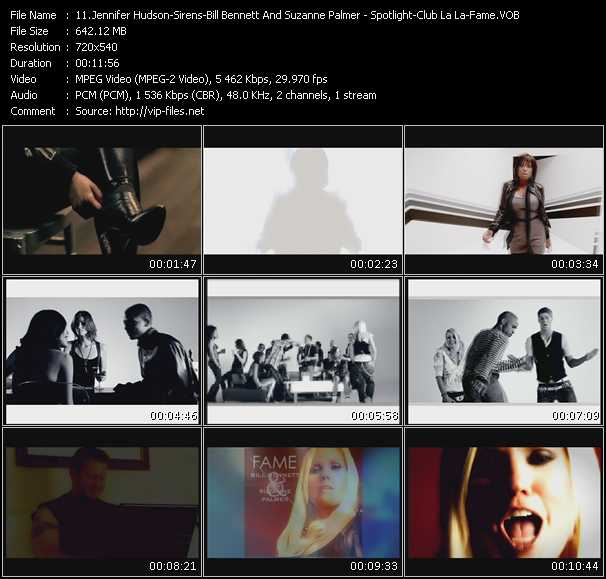 Jennifer Hudson - Sirens - Bill Bennett And Suzanne Palmer video screenshot