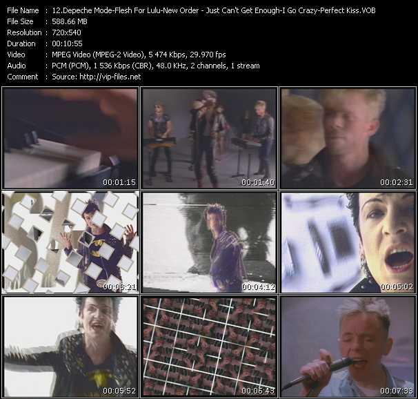 Depeche Mode - Flesh For Lulu - New Order video screenshot