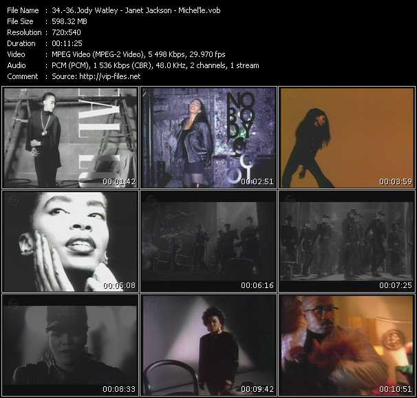 Jody Watley - Janet Jackson - Michel'le video screenshot