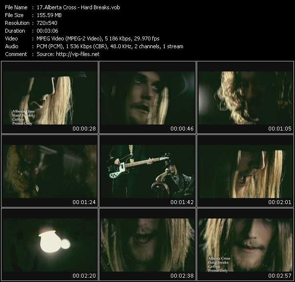 Alberta Cross video screenshot
