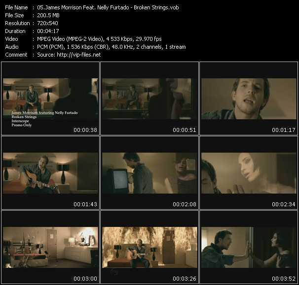 James Morrison Feat. Nelly Furtado video screenshot