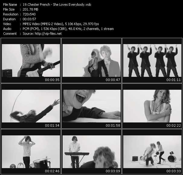 Chester French video screenshot