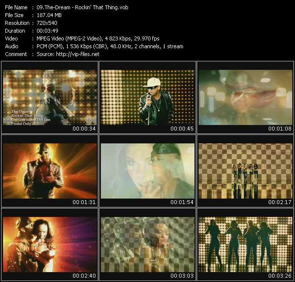 The-Dream video screenshot