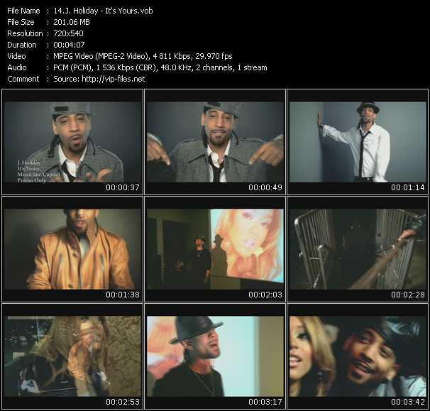 J. Holiday video screenshot