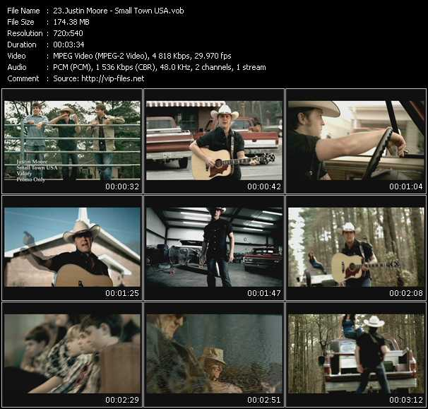 Justin Moore video screenshot