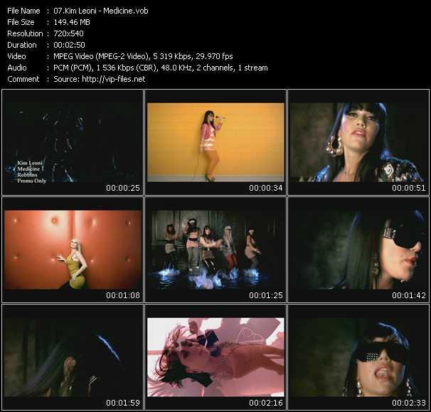 Kim Leoni video screenshot
