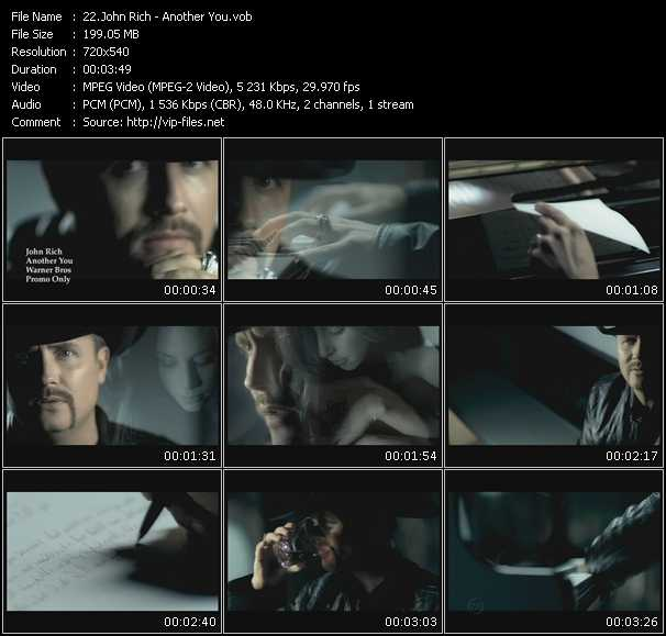 John Rich video screenshot