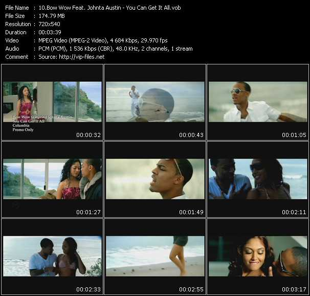 Bow Wow Feat. Johnta Austin video screenshot
