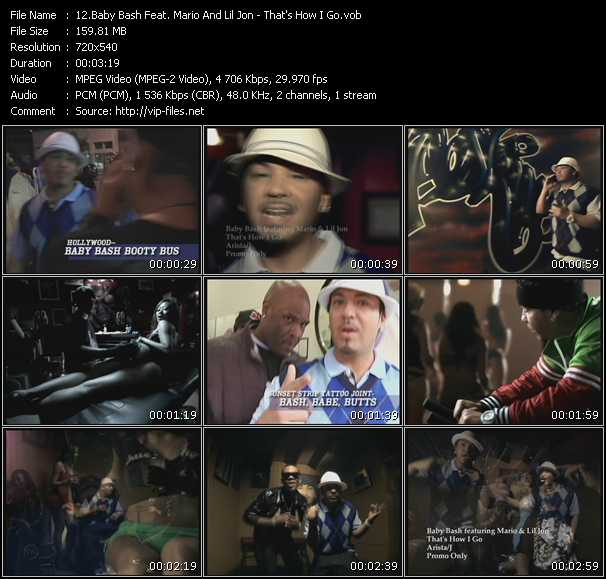 Baby Bash Feat. Mario And Lil' Jon video screenshot