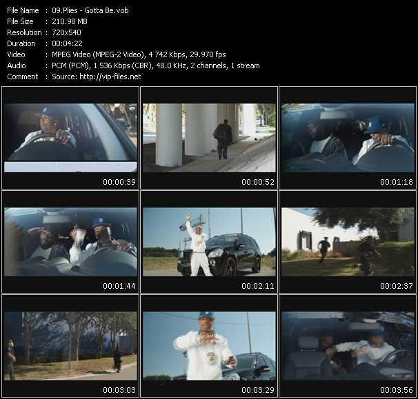 video Gotta Be screen