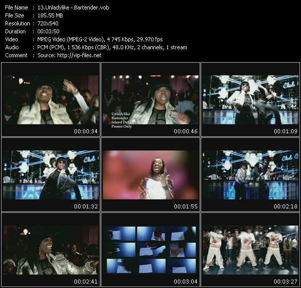 Unladylike video screenshot
