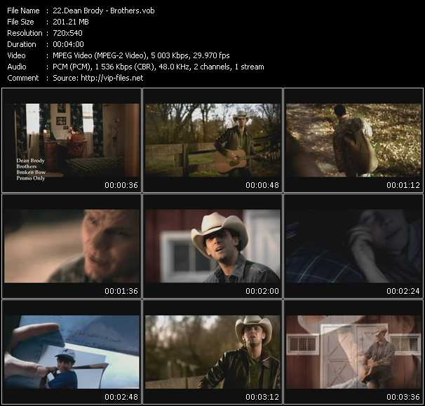 Dean Brody video screenshot