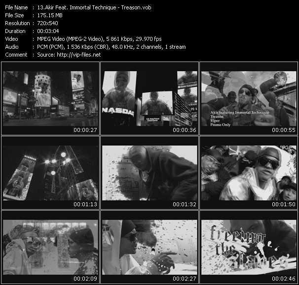 Akir Feat. Immortal Technique video screenshot