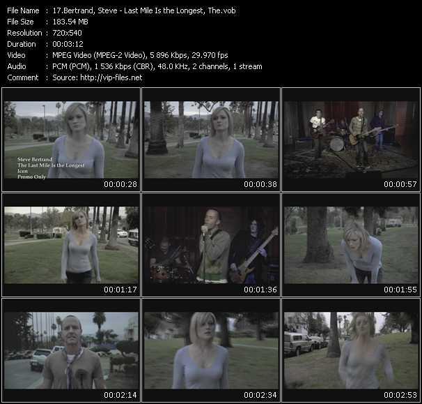 Steve Bertrand video screenshot