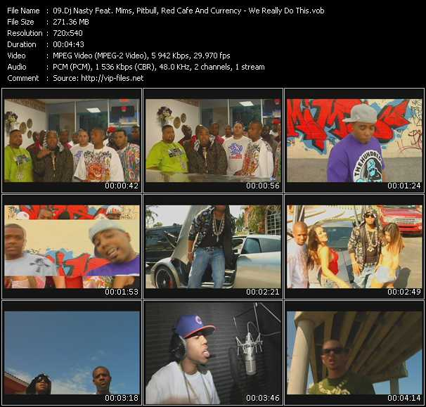Dj Nasty Feat. Mims, Pitbull, Red Cafe And Currency video screenshot