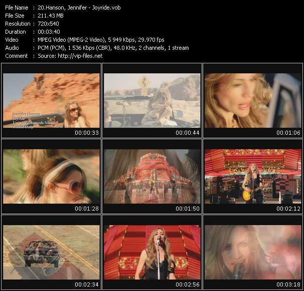 Jennifer Hanson video screenshot