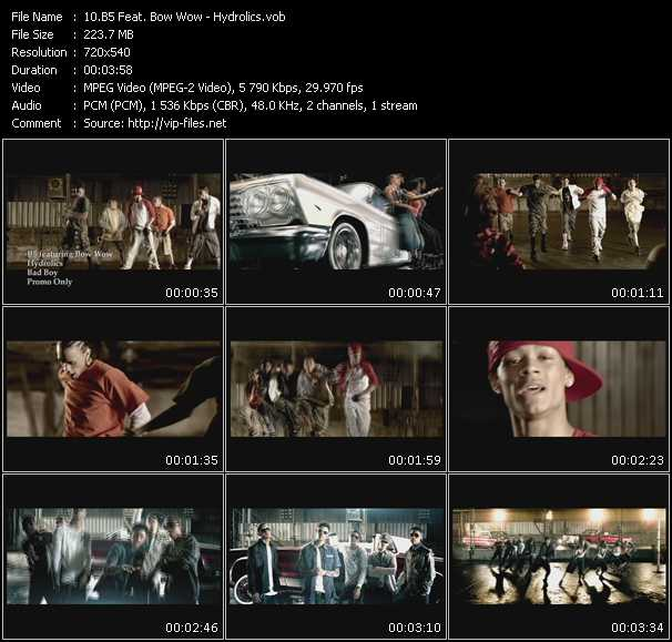 B5 Feat. Bow Wow video screenshot