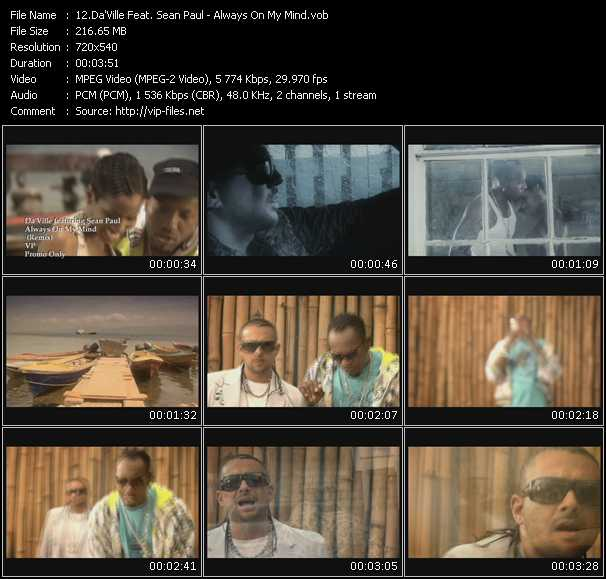 Da'Ville Feat. Sean Paul video screenshot