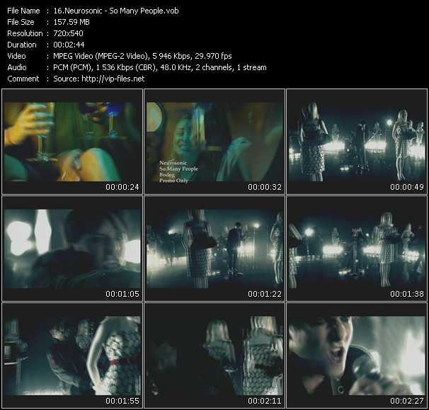 Neurosonic video screenshot