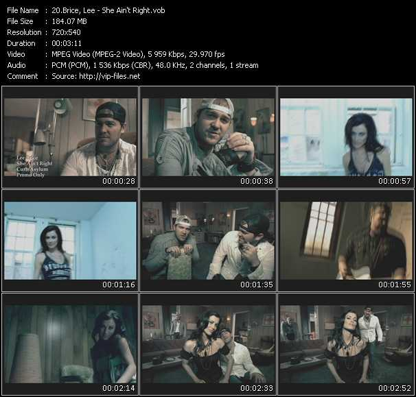 Lee Brice video screenshot