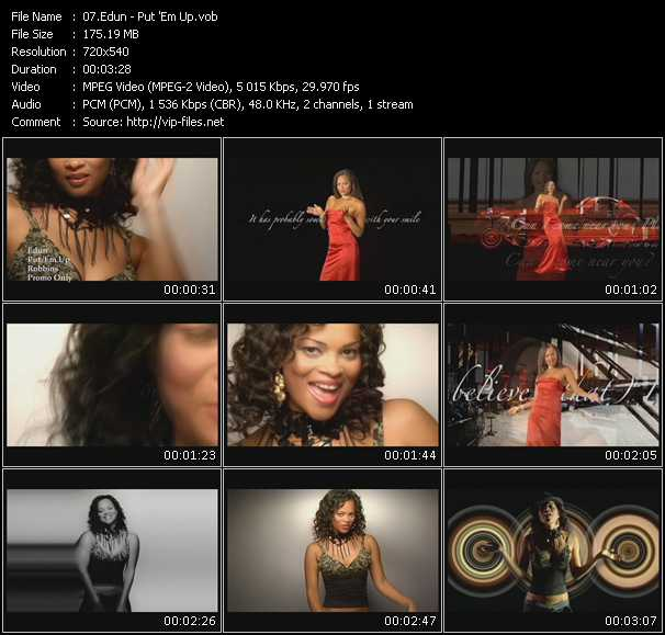 Edun video screenshot