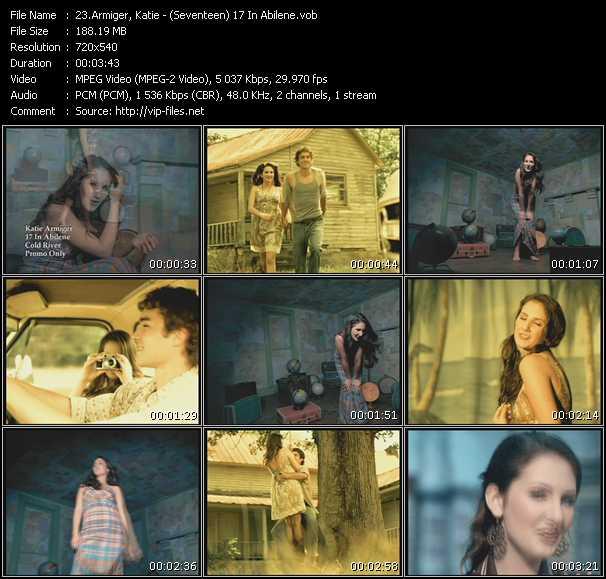 Katie Armiger video screenshot