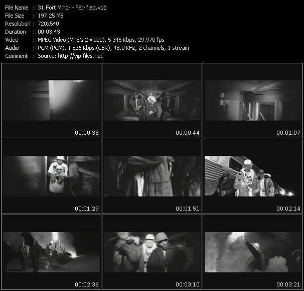 Fort Minor video screenshot