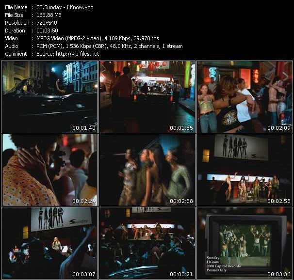 Sunday video screenshot