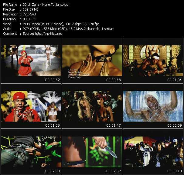 Lil' Zane video screenshot
