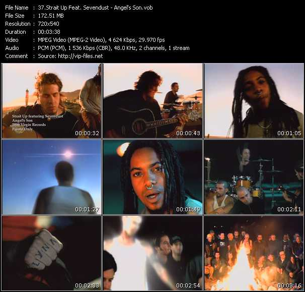Strait Up Feat. Sevendust video screenshot