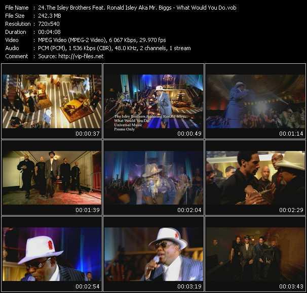 Isley Brothers Feat. Ronald Isley Aka Mr. Biggs video screenshot