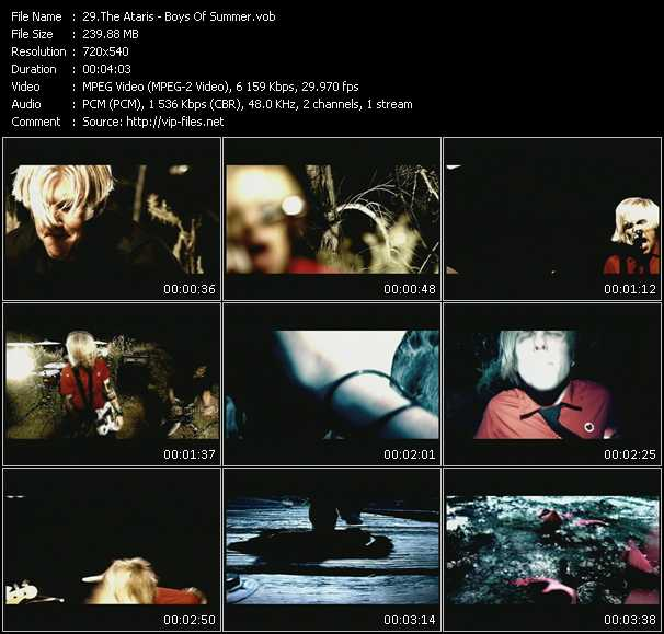 Ataris video screenshot
