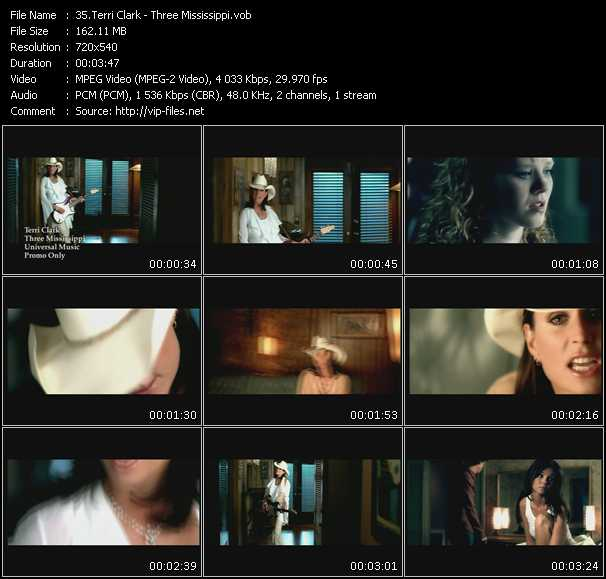 Terri Clark video screenshot