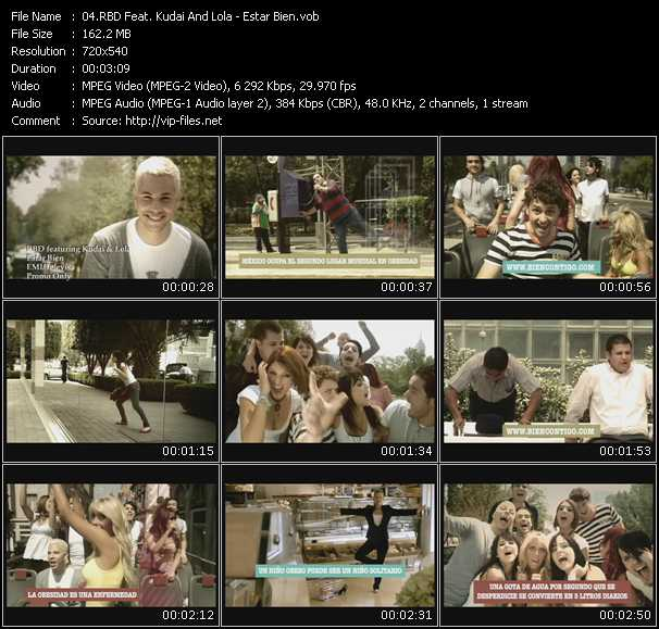 Rbd Feat. Kudai And Lola video screenshot