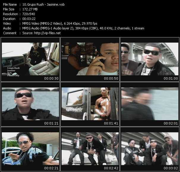 Grupo Rush video screenshot