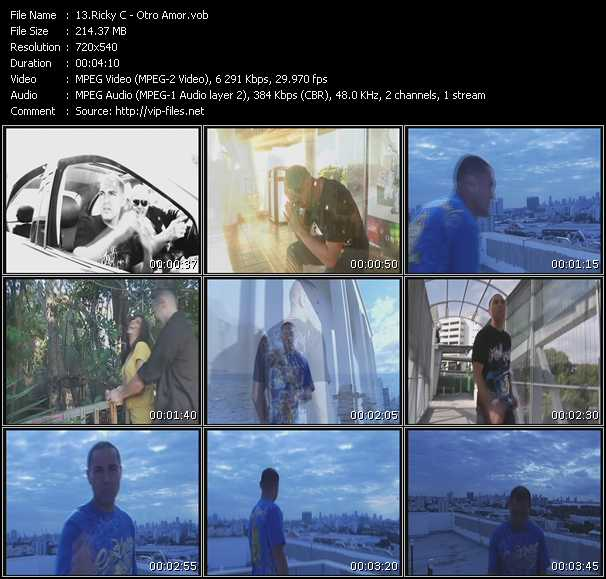 Ricky C video screenshot
