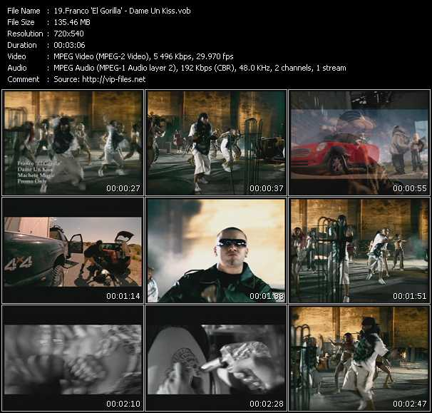 Franco El Gorila video screenshot