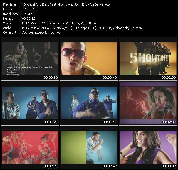 Angel And Khriz Feat. Gocho And John Eric video screenshot
