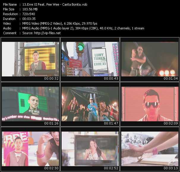 Erre XI Feat. Pee Wee video screenshot