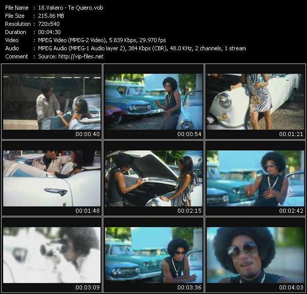 Vakero video screenshot