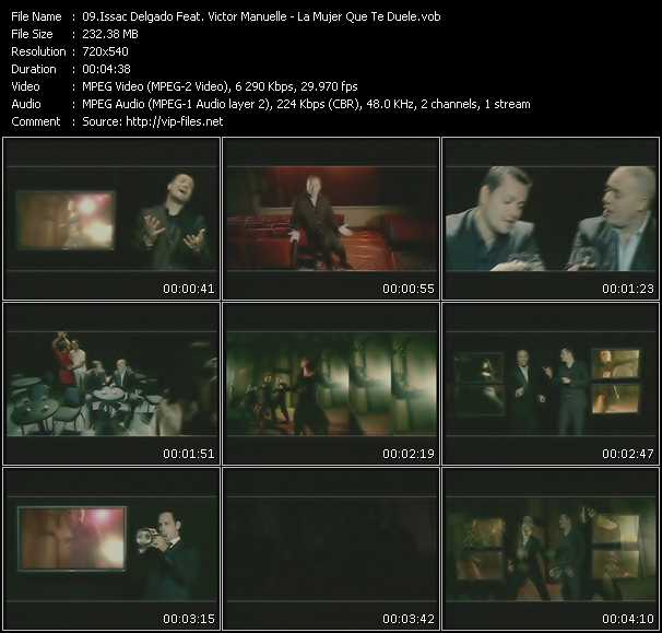 Issac Delgado Feat. Victor Manuelle video screenshot