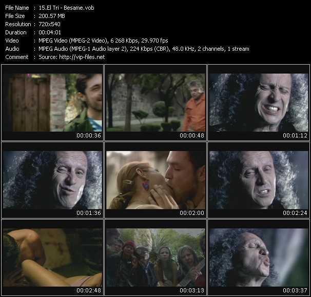 El Tri video screenshot