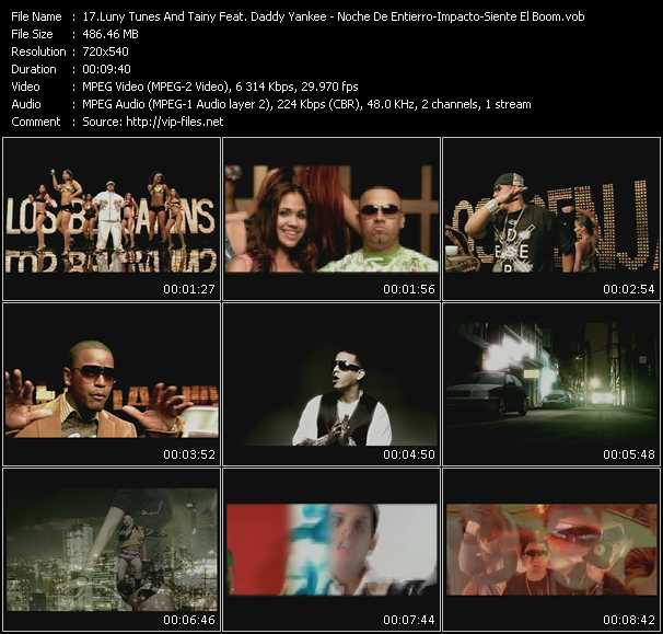 Luny Tunes And Tainy Feat. Daddy Yankee, Tonny Tun Tun, Hector El Father, Zion, Wisin And Yandel - Daddy Yankee - Tito El Bambino Feat. Randy video screenshot