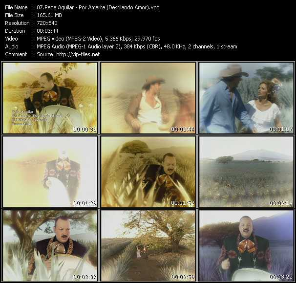 Pepe Aguilar video screenshot