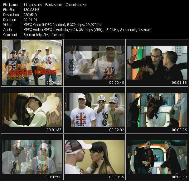 Karis Los 4 Fantasticos video screenshot