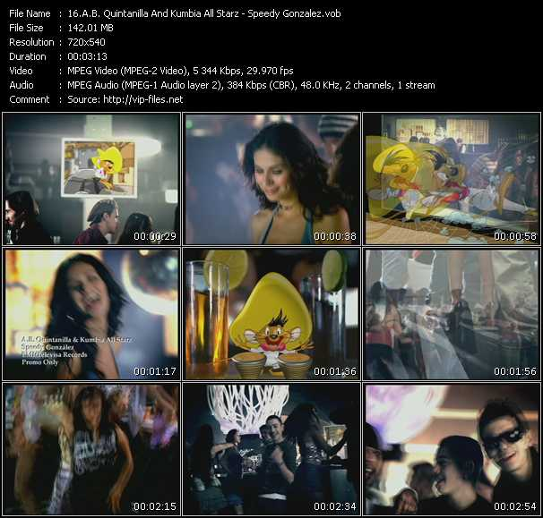 A.B. Quintanilla And Kumbia All Starz video screenshot