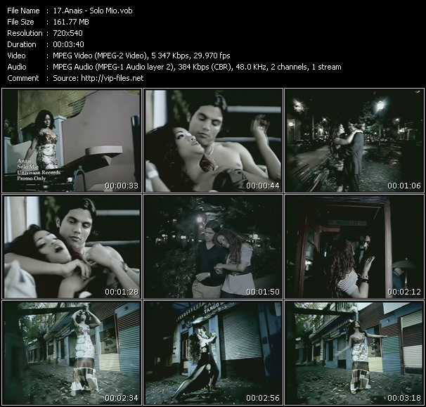 Anais video screenshot